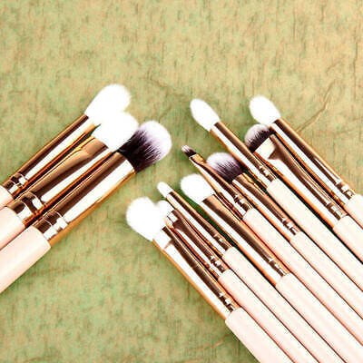 12x Pro Makeup Brushes Kit Foundation Powder Eyeshadow Eyeliner Lip Brush Tool