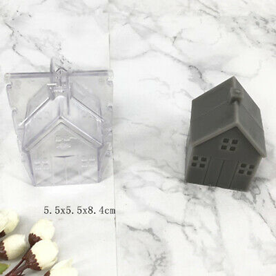 Transparent Candle Mold House Mould for DIY Soap Craft Candles Making Supply
