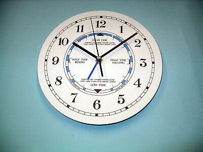 TIDE CLOCK - Times Of High Low Tides - Lighthouse Coast Beach Cabo
