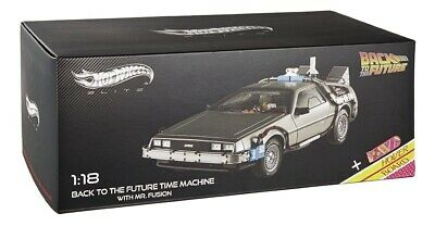Delorean Back To The Future Ii Regreso Al Futuro Ii Hot Wheels Elite 1/18