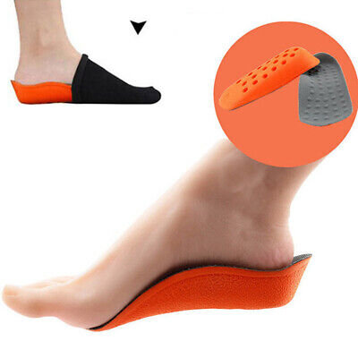 1 Pair Height Increase Elevator Shoe Insoles Lift Kit For Women Inserts Men S4J6