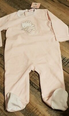 6563234c04ad5 Pyjama velours 1 pièce fille taille 2 ans neuf étiquette hello kitty