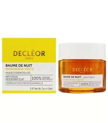 DECLEOR BAUME DE NUIT Night Balm Green Mandarin 15ml