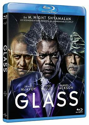GLASS BLU RAY con Bruce Willis,Samuel L.Jackson,James McAvoy