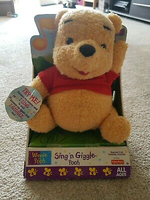 winnie the pooh sing me to sleep soother