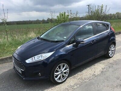 Ford Fiesta 1.5Tdci Titanium X Spec/Blue/Full Leather/One Lady Owner/F/History