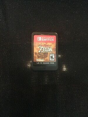 Legend of Zelda: Breath of the Wild (Nintendo Switch, 2017) Used Loose