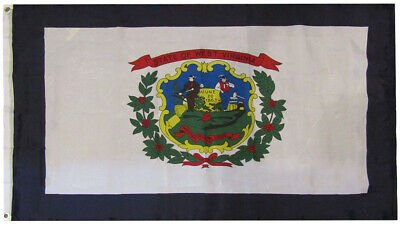 3x5 State of West Virginia WV 3'x5' Premium Quality 75D Polyester Flag (RUF)