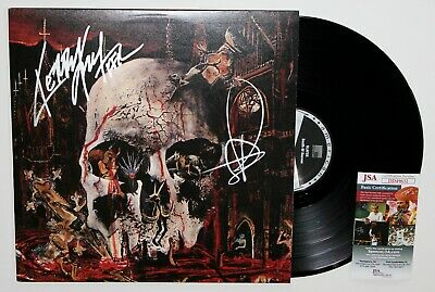 Slayer Signed South Of Heaven Lp Vinyl Record Album Kerry King Tom Araya Jsa Coa