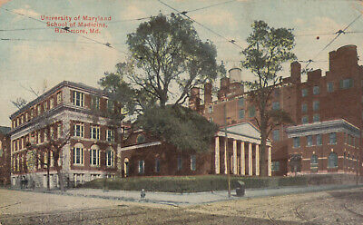 UNIVERSITY OF MARYLAND, School of Medicine, about 1936, used
