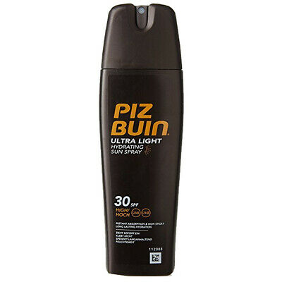 Piz Buin Ultra Light Spray Solar Hidratante, SPF30 - 200 ml