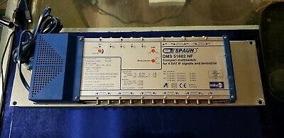 SPAUN DMS51602NF. Compact Multiswitch For 4sat If Signals
