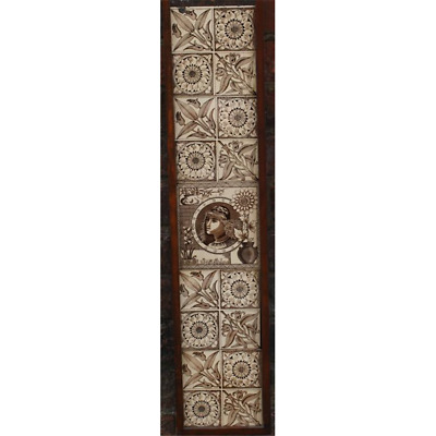 Victorian Fireplace Tiles In Ceramic Aesthetic Aesthetic Arts And Crafts Firepla