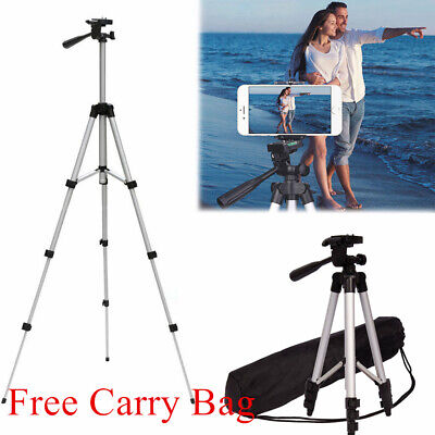 Professional Camera Tripod Stand for Phone iPhone Samsung Free Bag