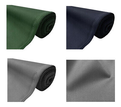 Heavy Duty Thick Water Resistant Canvas Fabric Outdoor Cover 650 GSM Material