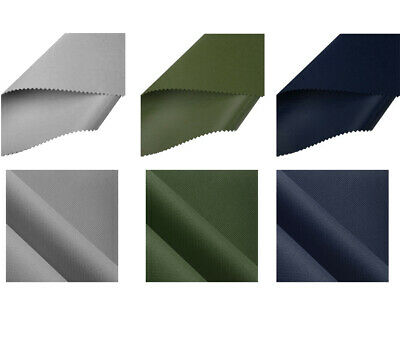 Heavy Duty Thick Water Resistant Canvas Fabric 600D Outdoor Cover Sold By Metre