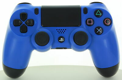 Sony CUH-ZCT1U DualShock Wireless PS4 Controller Blue *Used*