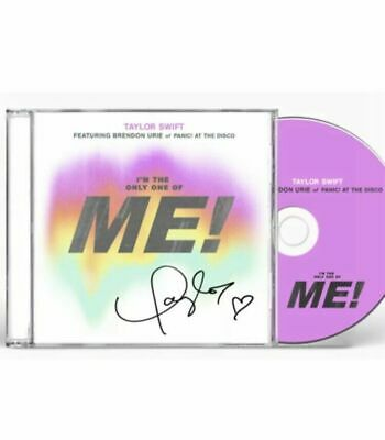 Taylor Swift Autograph ME! CD Single Signed Booklet w/ COA Sold Out Music 1989