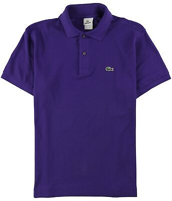 Lacoste Mens ss Rugby Polo Shirt purple M