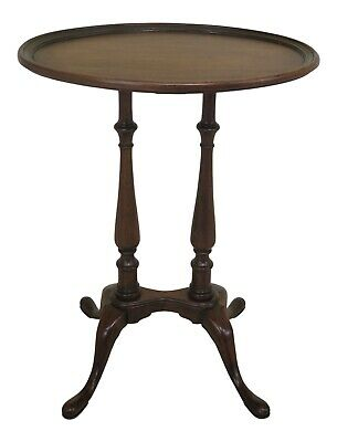 47387EC: BRANDT Oval Mahogany Occasional Accent Table