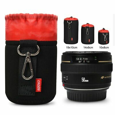 Large DSLR Camera Lens Bag Case Sling Pouch Waterproof For Canon Nikon Sony