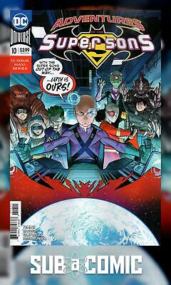 ADVENTURES OF THE SUPER SONS #10 (DC 2019 1st Print) COMIC