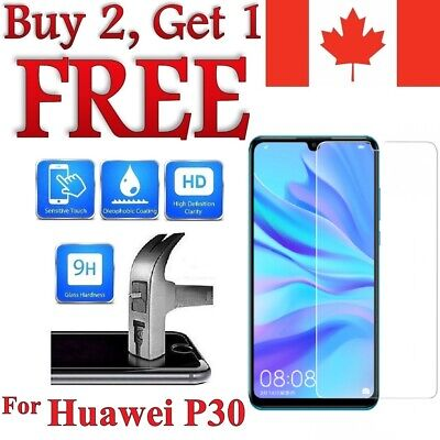 For Huawei P30 Premium Tempered Glass Screen Protector