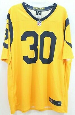 Hot BRAND NEW NIKE Color Rush Los Angeles Rams Todd Gurley #30 Legend  for sale
