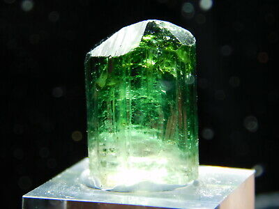 A VERY Gemmy Terminated Tourmaline Crystal on a Stand! From Brazil 20.3 e