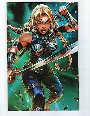 War Of The Realms # 4 Battle Lines Variant Cover NM Marvel