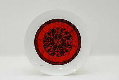 3 Block Flamenco Dinner Plate Plates 10.5 Inch
