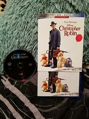 Christopher Robin Blu Ray/Fantastic beasts the crimes of grindelwald DVD
