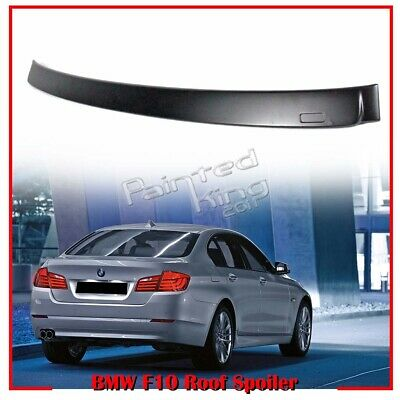 PKUK For BMW 5 series F10 Window Roof Spoiler Wing 2010-2016 A Type Unpainted