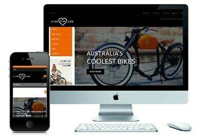 Electric Bike E-commerce Website Store $$$! Online Now! 2nd Income?