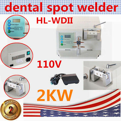Spot Welder Dental HL-WDII Welding Orthodontic Teeth Repair Heat Treatment BEST
