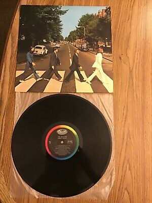 "The Beatles ""Abbey Road"" LP record U.S. 1983 pressing in near mint unplayed cond"