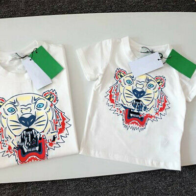 Tiger Heard T shirts Matching Father Mother daughter son Parent Child Gift Cute