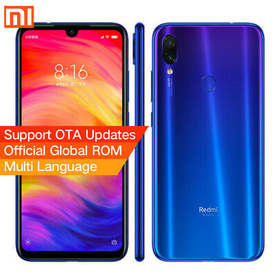 "Xiaomi Redmi Note 7 Smartphone 6GB+64GB 6,3"" Octa core Global Móvil libre- Azul"