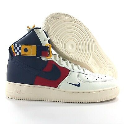 detailed look 8b68b 26c39 Nike Air Force 1 High '07 LV8 Nautical Redux Sail Navy AR5395-100 Men's