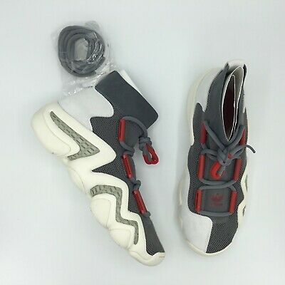 Sale Adidas Crazy 8 A//D Cq1869 Gray White Red Size 8.5 - 12 Brand New