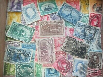 ESTATE: USA used accumulation unchecked unsorted  in box Grab it  (s435)