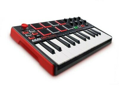 Akai Professional MPK Mini MKII 25-Key USB MIDI Controller -red-