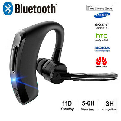 Wireless Earpiece Rotatable Bluetooth Headset Mobile Phone Hands Free Earpiece