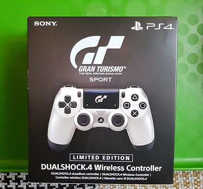 Sony Ps4 Dualshock 4 V2 Gt Sport 7 Limited Edition Nuovo Imballato Controller