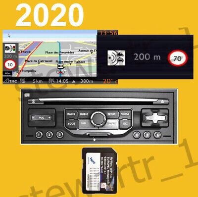 2020 2019 Citroen Peugeot Sd Card All Europe Morocco Uk Maps Rneg Wipnav Myway