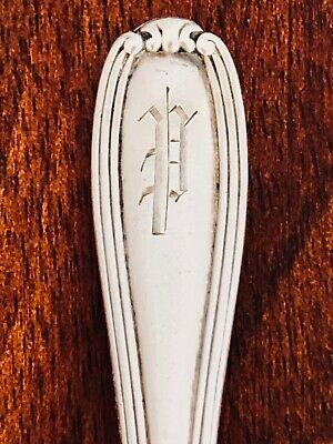 - Elegant Alvin Mfg. Co. Sterling Silver Bouillon Soup Spoon: William Penn