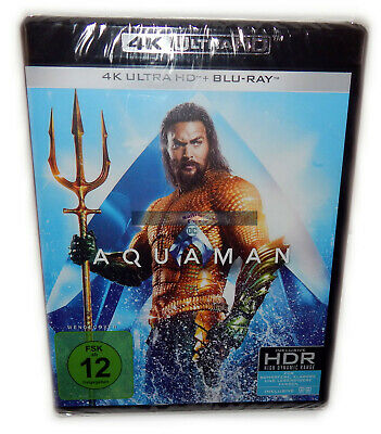 Aquaman [4K Ultra HD+Blu-Ray] 2-Disc (Jason Momoa) DC Wendecover Deutsch