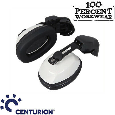 Centurion 25dB Helmet Mounted Ear Defenders Muffs For Safety Hard Hat Universal