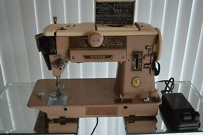 Vintage Singer 401A Slant-O-Matic Sewing Machine