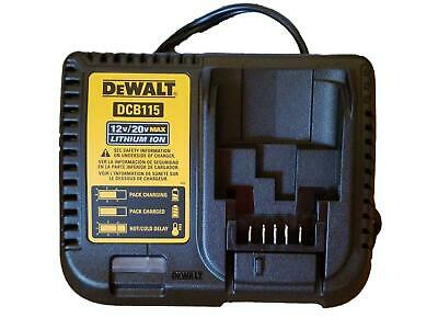 Dewalt DCB115 12V , 20v & 60V Battery Charger New!